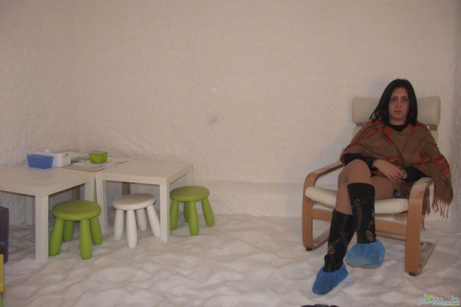 الفعالية العلاجية لغرفة الملح: الأزمة (الربو)، امراض الجلد وغيرها