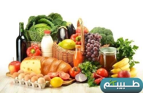 بيت وعائلة صحية يعني: وجود طعام  صحي بالبيت